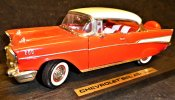 Chevrolet Bel Air 1957 Road Legends modellbil diecast skalmodell samlarbil
