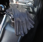 Full back driving gloves Bilhandske GREYCAR