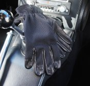 Les leston driving gloves Bilhandskar GREYCAR