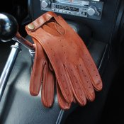 Open back driving gloves Bilhandske GREYCAR