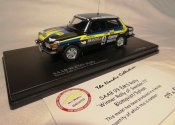 SAAB 99 EMS 1976 Winner Rally of Swedien Rally modell