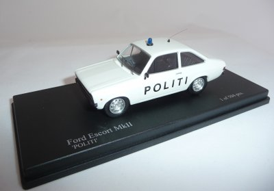 Ford Escort MK II, Politi, Nordic Collection