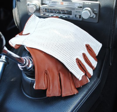 Fingerless Driving Gloves Bilhandskar GREYCAR