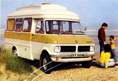 Gratulationskort - Husbil Dormobile Landcruiser 1974