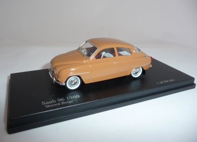 SAAB 96 1960 Brun, 1/43, Nordic Collection