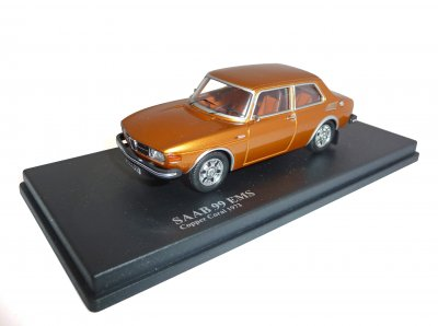 SAAB 99 EMS 1973 Copper Coral, 1/43, Nordic Collection