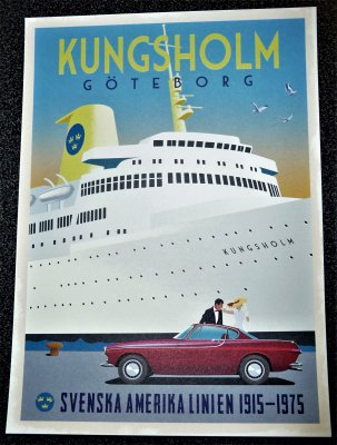 Poster: Volvo P1800